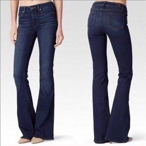 Paige - High Rise Bell Canyon Jeans - 25 - Flare